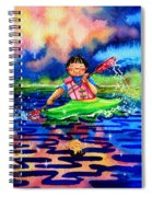 The Kayak Racer 11 Spiral Notebook