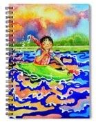 The Kayak Racer 12 Spiral Notebook