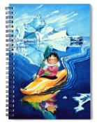 The Kayak Racer 13 Spiral Notebook