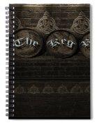 The Keg Room Version 4 Spiral Notebook