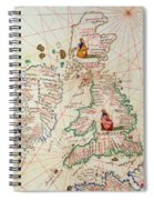 The Kingdoms Of England And Scotland Spiral Notebook