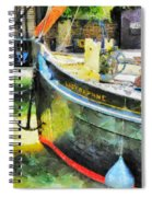 The Lady Daphne  Spiral Notebook