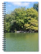 The Lake In Central Park Spiral Notebook