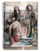 The Lamentation Of Christ Spiral Notebook