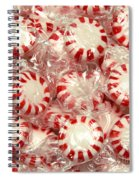 The Land Of Peppermint Candy Square Spiral Notebook