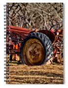 The Last Field Spiral Notebook