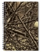 The Last Little Apple On The Tree Spiral Notebook