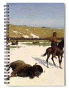 The Last Of The Herd Spiral Notebook