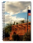 The Last Outpost Old Tuscon Arizona Spiral Notebook