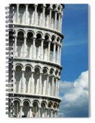 The Leaning Tower Of Pisa Italy Spiral Notebook