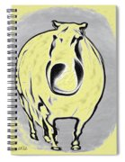 The Legend Of Fat Horse Spiral Notebook