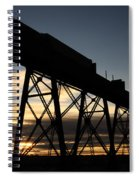 The Lethbridge Bridge Spiral Notebook