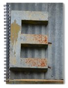 The Letter E Spiral Notebook