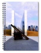 The Liberty State Park 911 Memorial Spiral Notebook