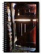 The Light Enters Barn Spiral Notebook