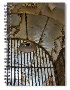 The Light Fixture Spiral Notebook