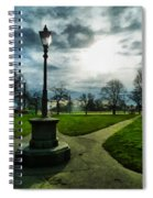 The Light Of A Winter's Day Spiral Notebook
