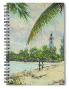 The Lighthouse - Zanzibar Spiral Notebook