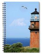 The Lighthouse On Martha's Vineyard Spiral Notebook