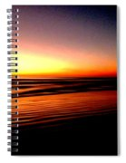The Lines Of Sunrise  Spiral Notebook