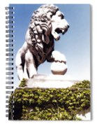 The Lion Spiral Notebook