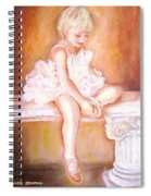 The Little Ballerina Spiral Notebook