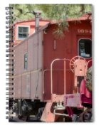 The Little Red Caboose Spiral Notebook