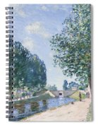 The Loing Canal At Moiret Spiral Notebook