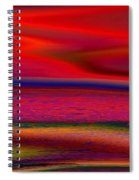 The Lonely Beach Spiral Notebook
