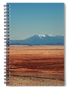 The Long Road To The Meteor Crater In Az Spiral Notebook