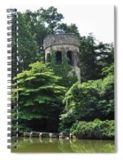 The Longwood Gardens Castle Spiral Notebook
