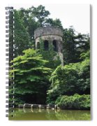 The Longwood Gardens Castle Spiral Notebook