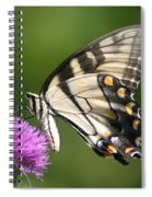 The Love Of Thistle Spiral Notebook