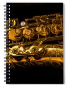 The Lying Sax Spiral Notebook