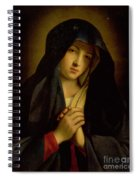 The Madonna In Sorrow Spiral Notebook
