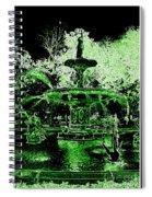 Green Savannah Spiral Notebook