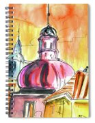 The Magical Roofs Of Prague 01 Bis Spiral Notebook