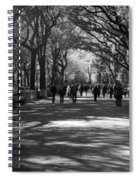 The Mall At Central Park Spiral Notebook