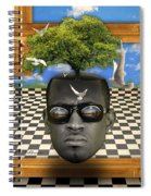 The Man And The Tree  Spiral Notebook
