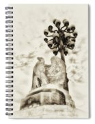 The Market Street Bridge Eagle Spiral Notebook
