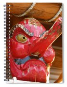 The Mask Spiral Notebook