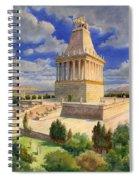 The Mausoleum At Halicarnassus Spiral Notebook
