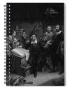 The Mayflower Compact, 1620 Spiral Notebook