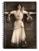The Merry Widow Spiral Notebook