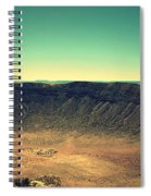 The Meteor Crater In Az 4 Spiral Notebook
