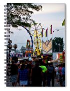 The Midway Lights Up Spiral Notebook