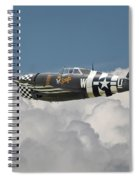 P47 Thunderbolt - The Mighty Jug Spiral Notebook
