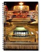 The Mighty Wurlitzer Detroit Mi Spiral Notebook