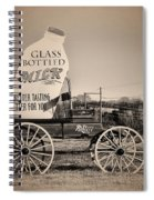 The Milk Wagon Spiral Notebook