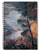 The Mississippi In Time Of War Spiral Notebook
